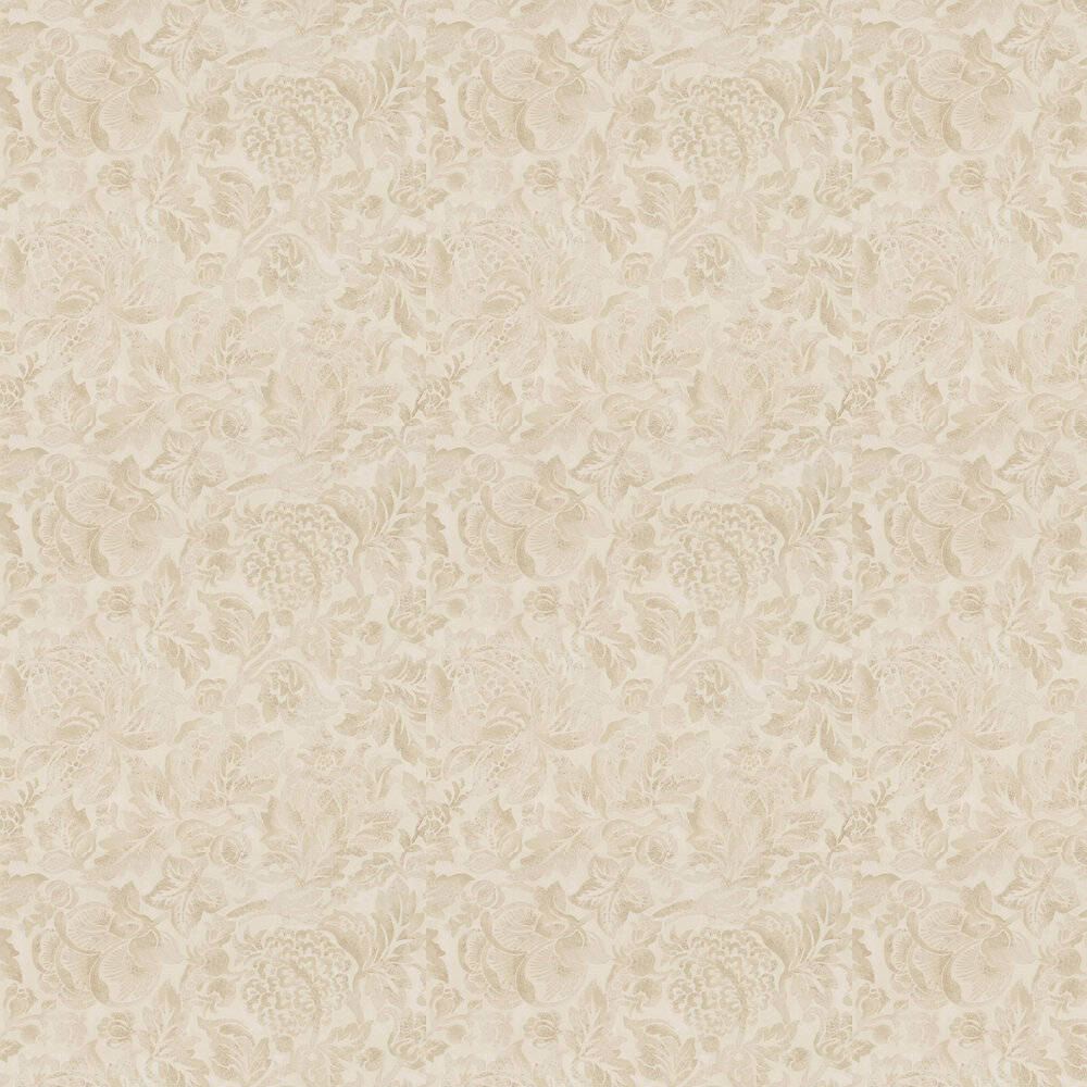 Sanderson Thackery Sepia Wallpaper - Product code: 216414