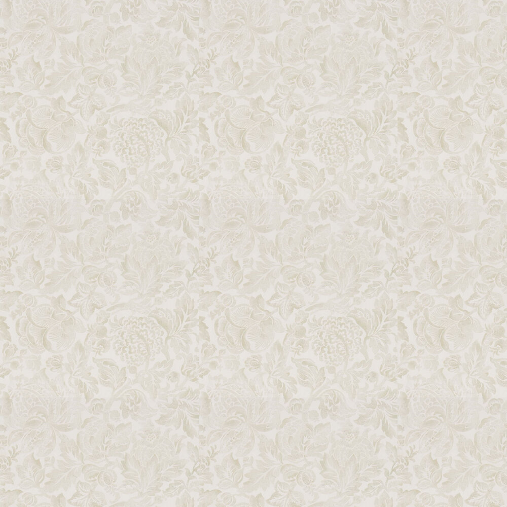 Sanderson Thackery Ivory Wallpaper - Product code: 216415