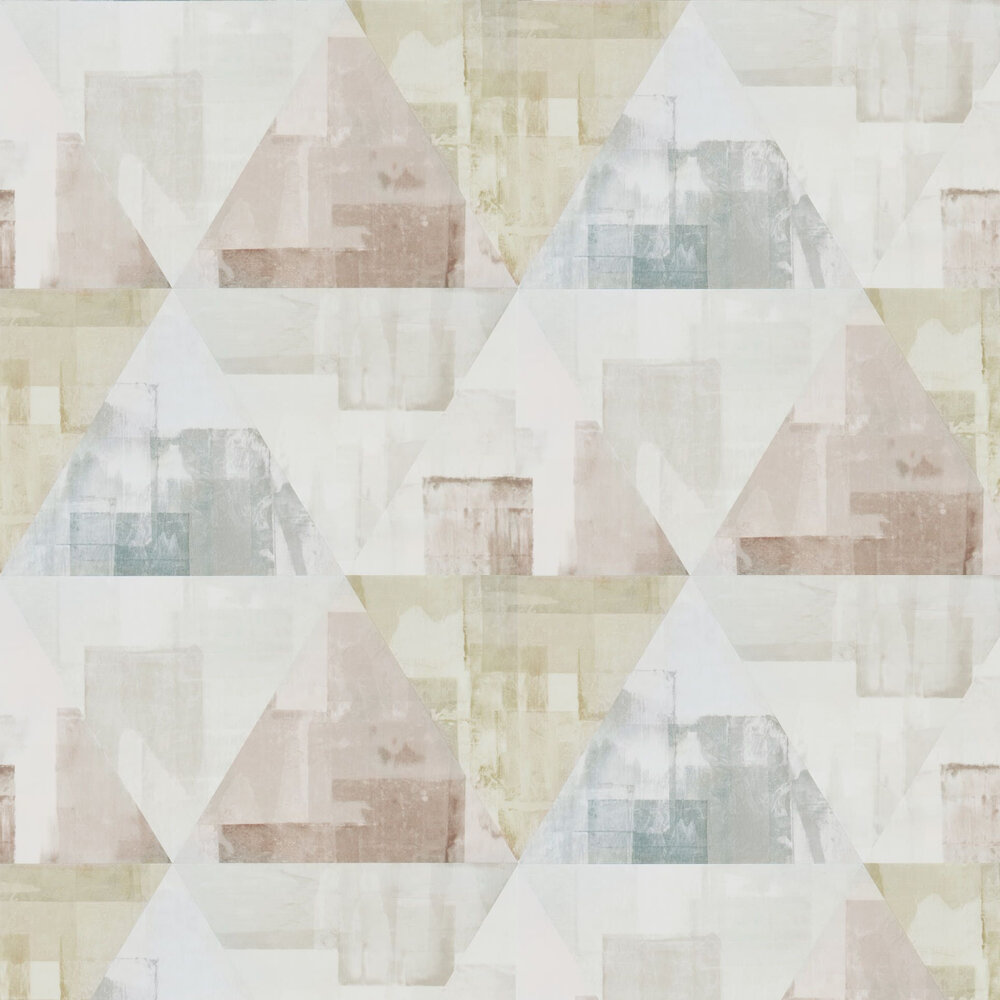 Harlequin Geodesic Blush and Taupe Wallpaper - Product code: 111698