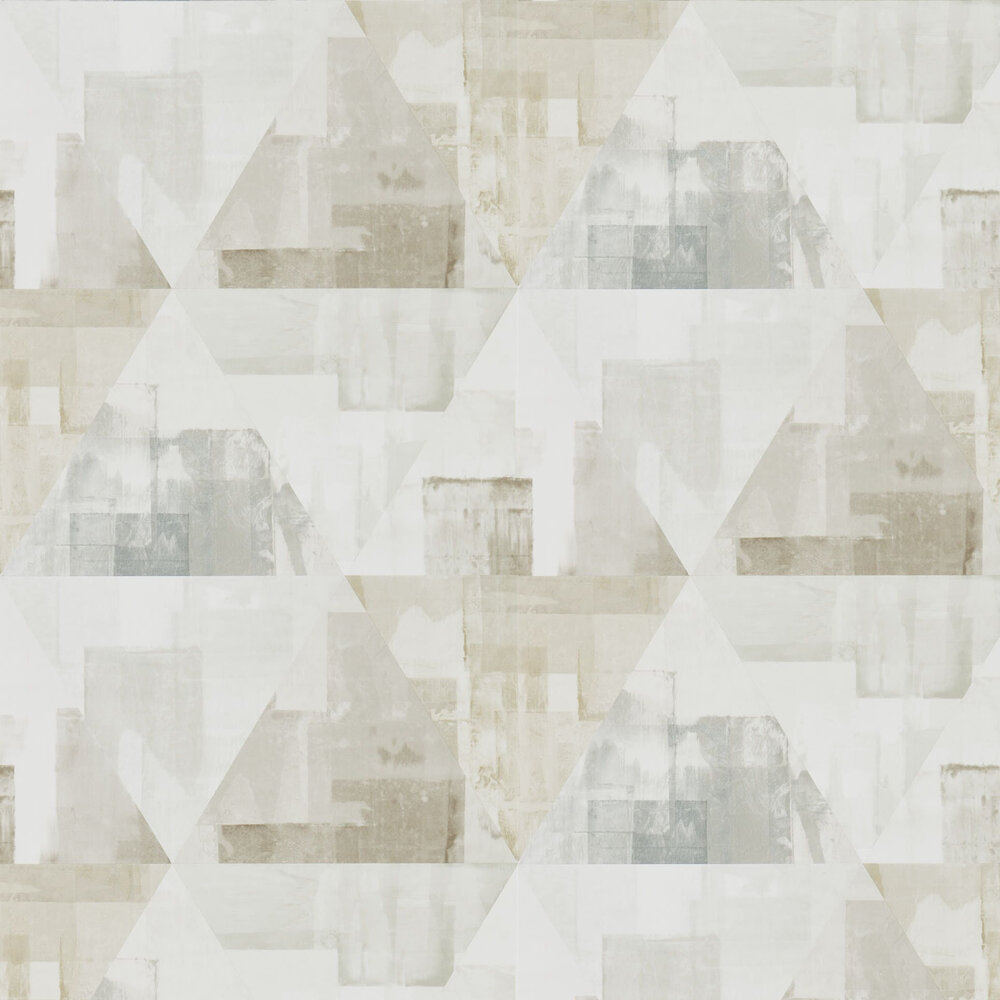 Harlequin Geodesic Taupe and Stone Wallpaper - Product code: 111699