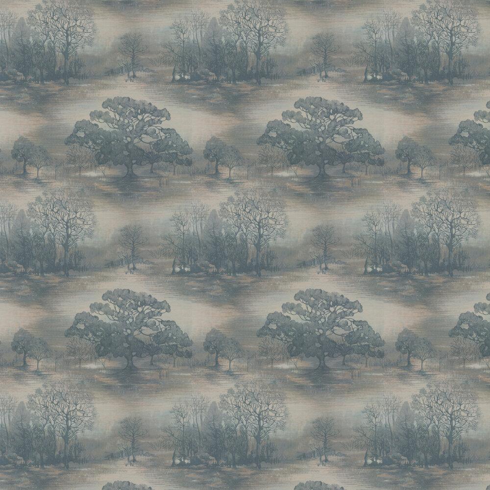 Moonstruck Wallpaper - Slate - by Jane Churchill