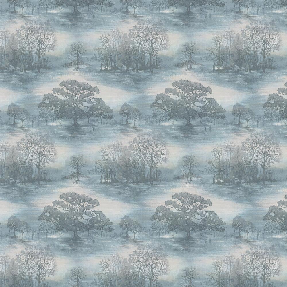 Jane Churchill Moonstruck Aqua Wallpaper - Product code: J170W-02