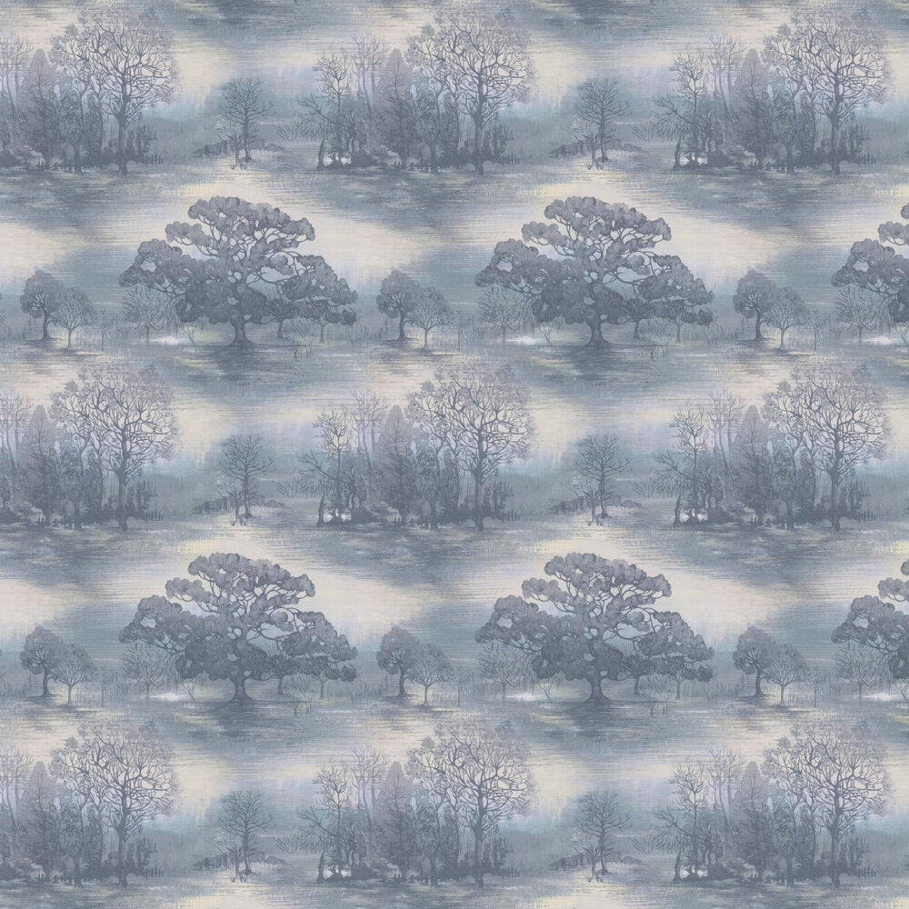 Jane Churchill Moonstruck Blue Wallpaper - Product code: J170W-06