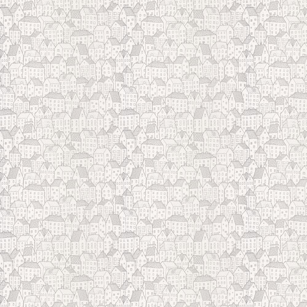 Maison Wallpaper - Silver - by Caselio