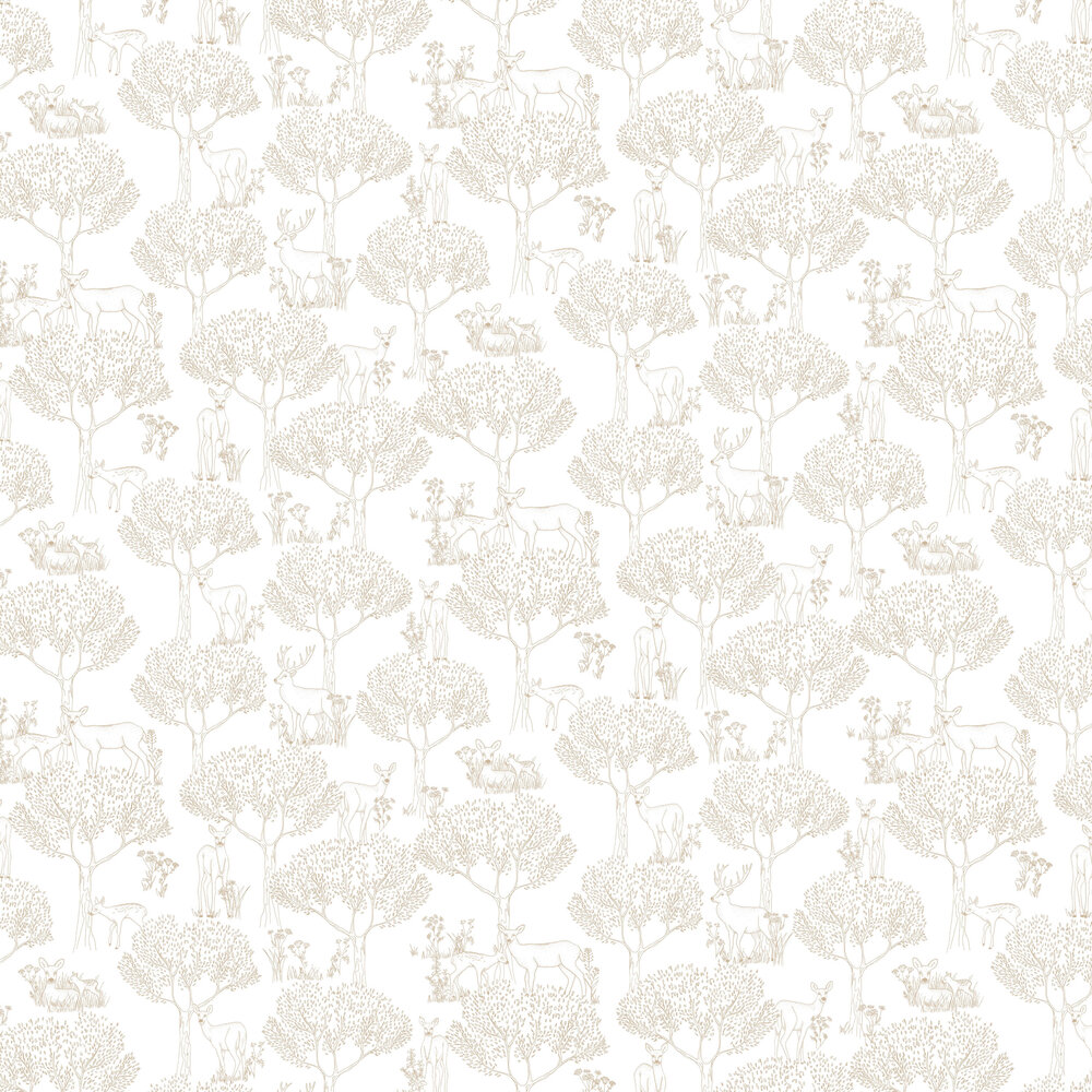 Caselio Doe Gold Wallpaper - Product code: PRLI 6922 20 22