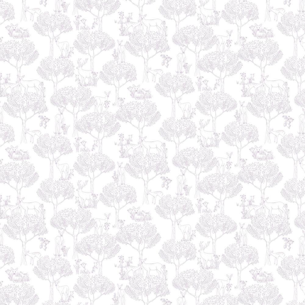 Doe Wallpaper - Silver - by Caselio