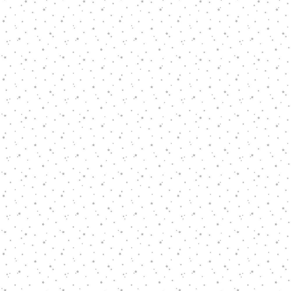 Star Wallpaper - Silver - by Caselio