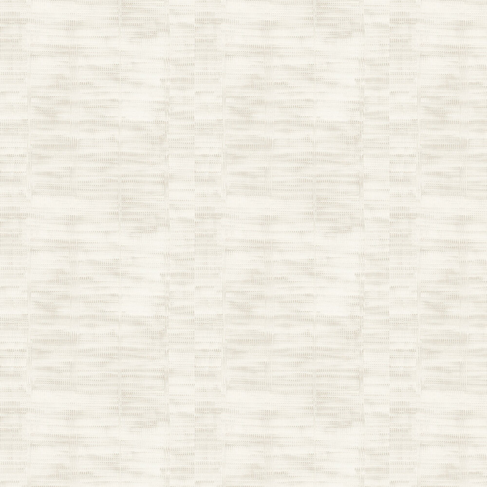 Amazing Plain Wallpaper - White Beige - by Casadeco
