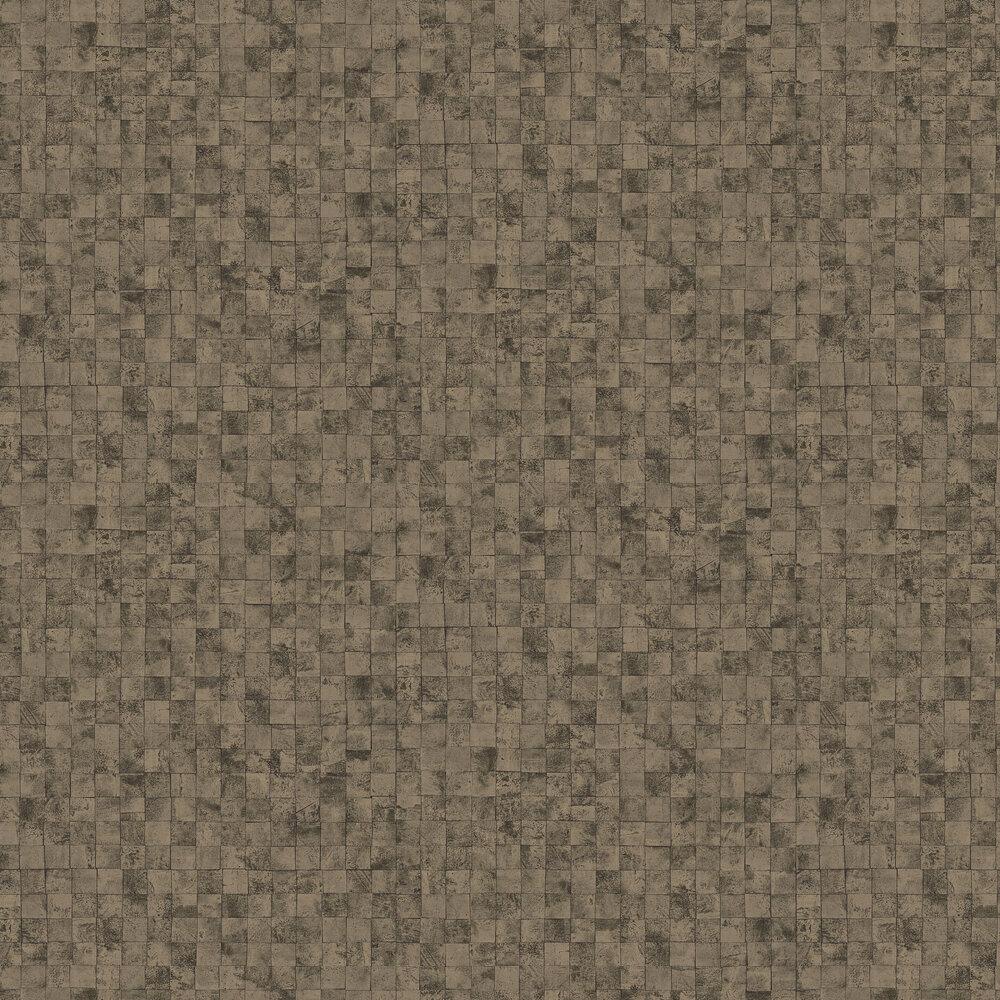 Mosaic Wallpaper - Gold  / Brown - by SketchTwenty 3