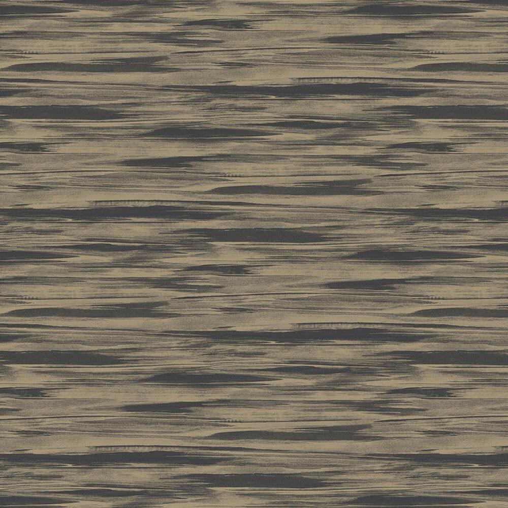 River Wallpaper - Brown / Gold - by SketchTwenty 3