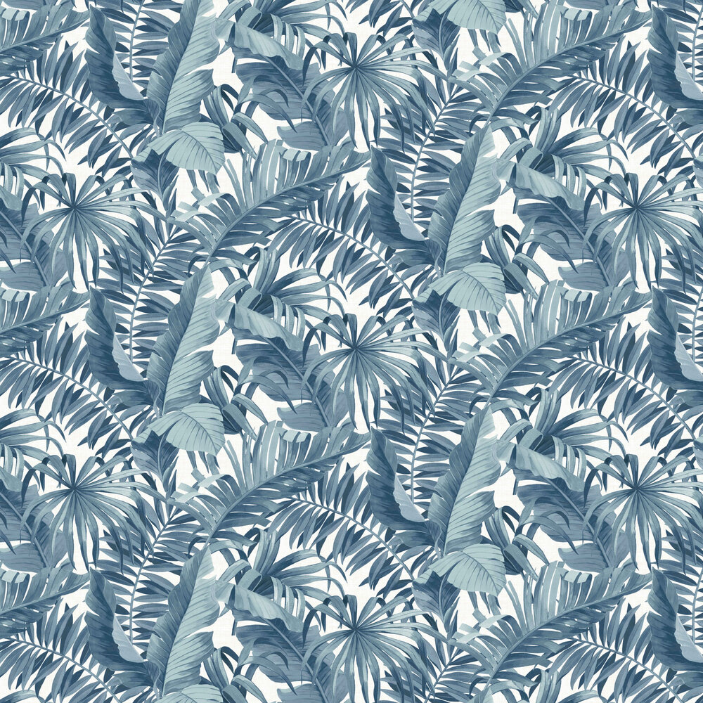 Baja Wallpaper - Blue - by Albany