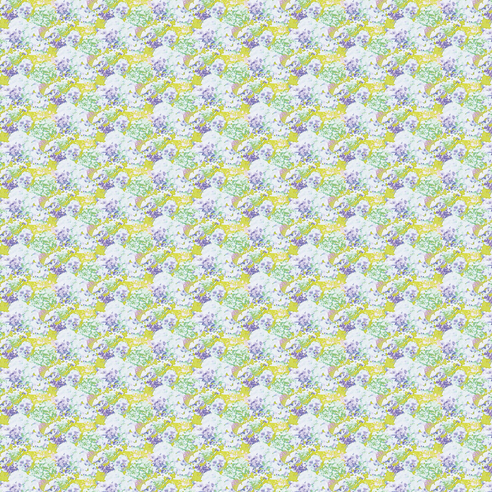 Wilworth Wallpaper - Lime Green - by Aire