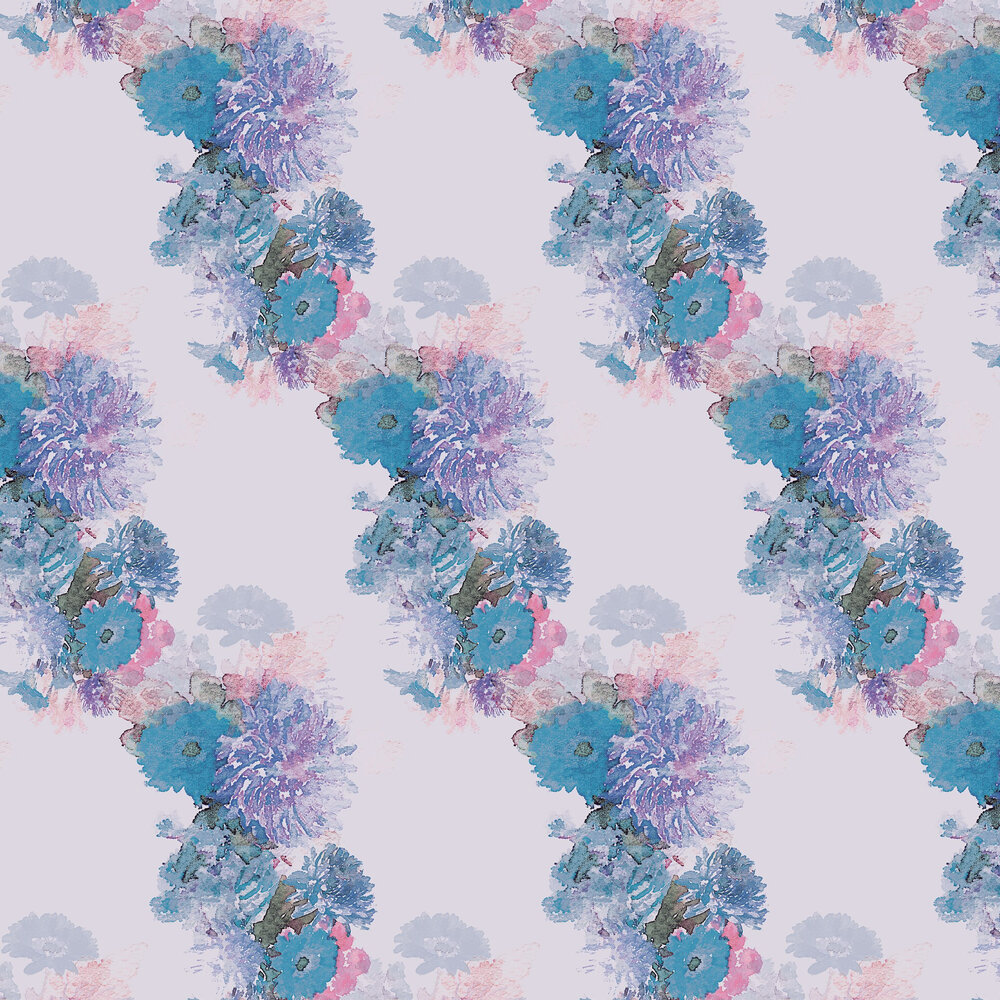Highgarth Wallpaper - Pink / Lavender - by Aire