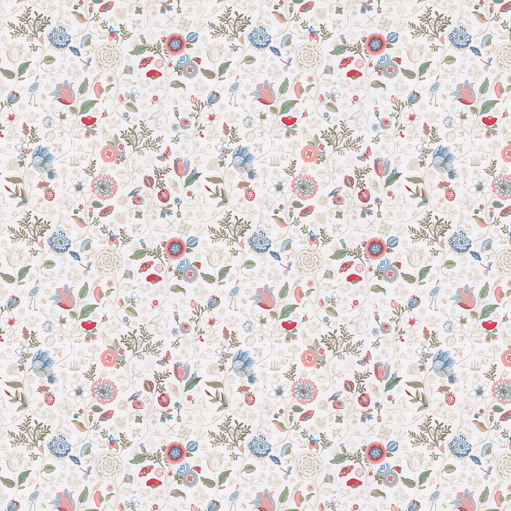 Eijffinger Spring to Life Off White Wallpaper - Product code: 375000