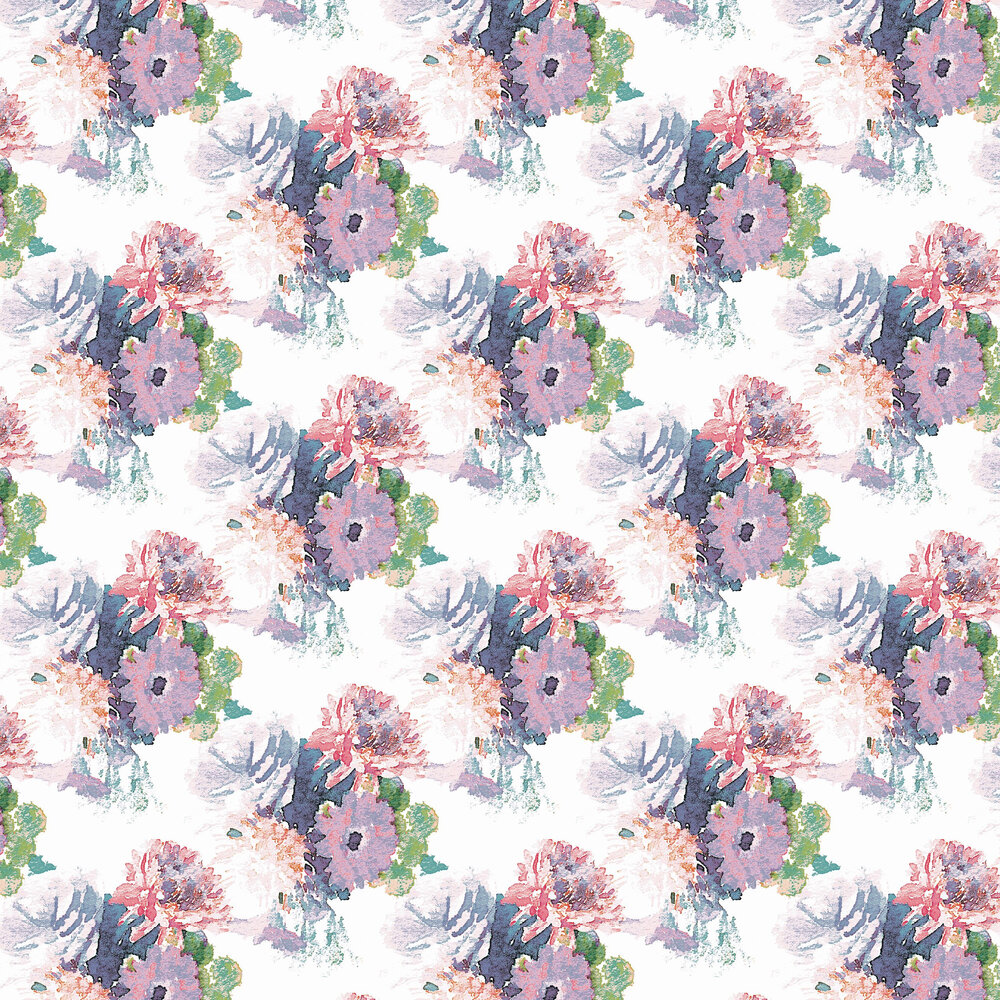 Beardwood Wallpaper - Pink / Purple - by Aire