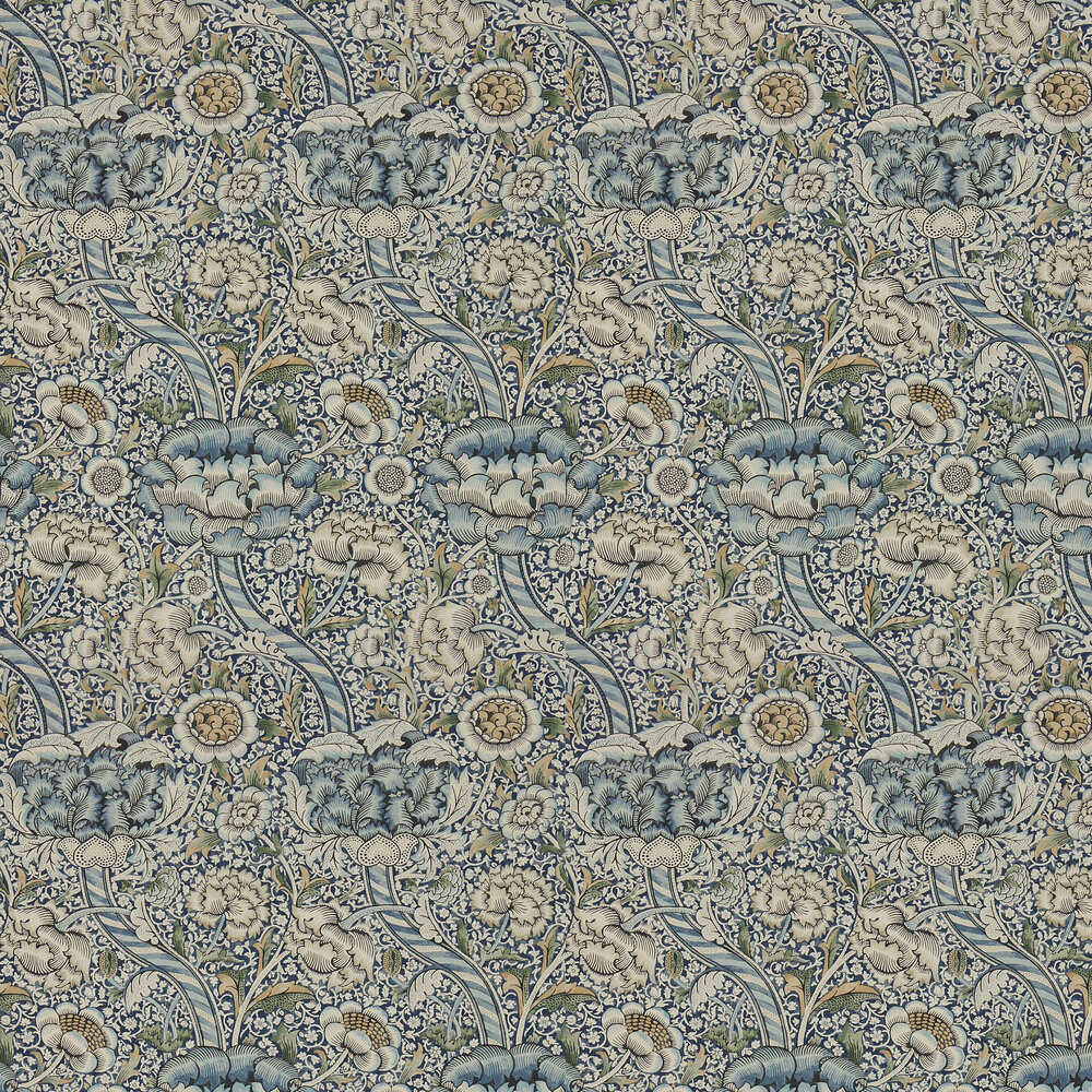Morris Wandle Blue / Stone Wallpaper - Product code: 216422