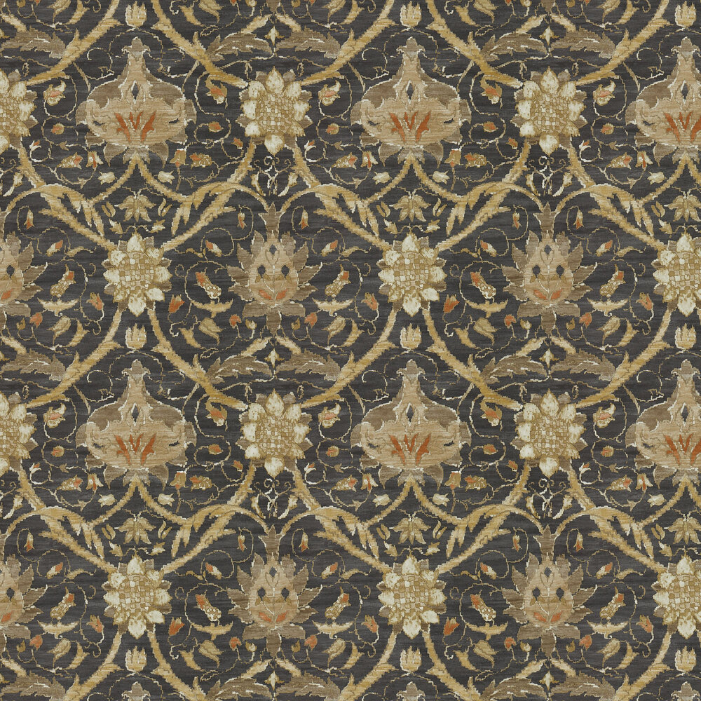Morris Montreal Charcoal / Bronze Wallpaper - Product code: 216431