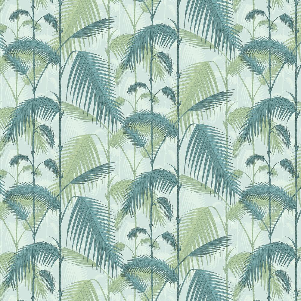 Cole & Son Palm Jungle Seafoam Wallpaper - Product code: 112/1001