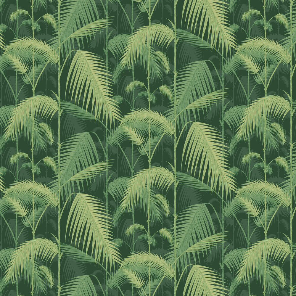 Palm Jungle By Cole Son Forest Green Wallpaper 112 1003