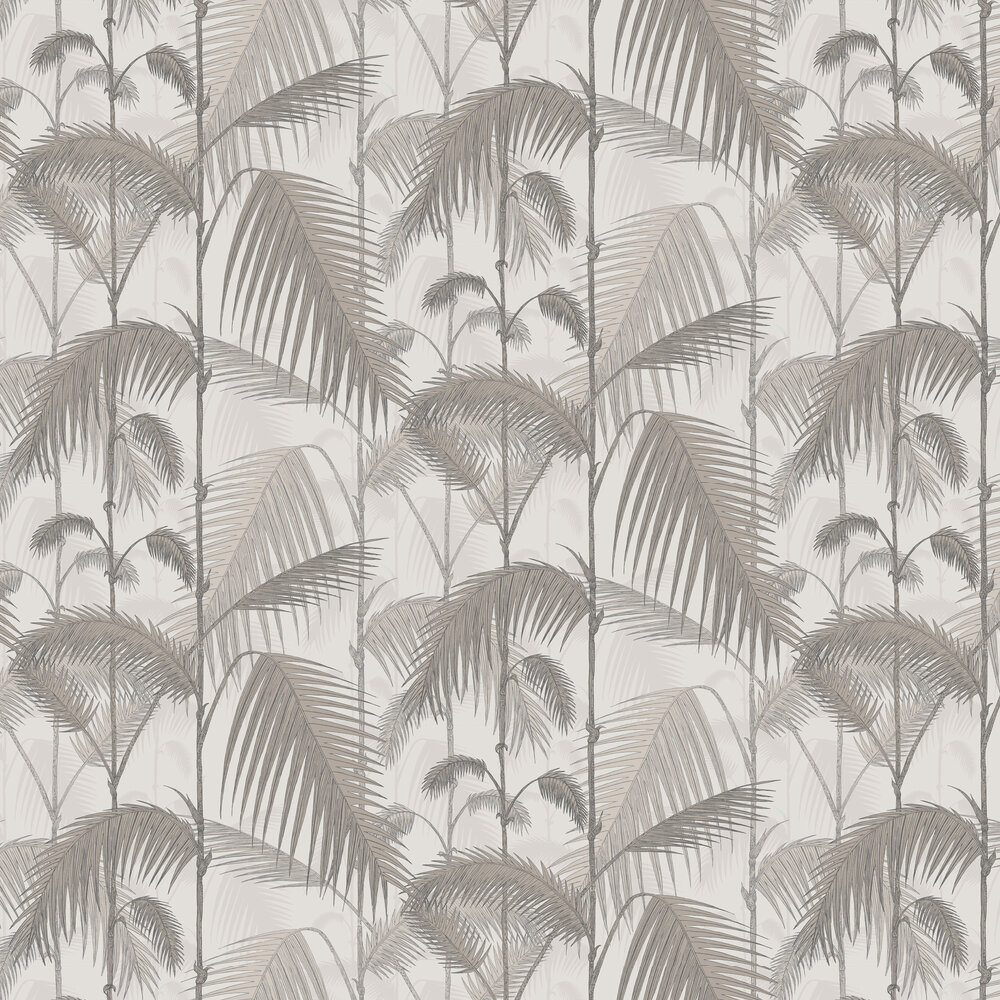 Cole & Son Palm Jungle Stone and Taupe Wallpaper - Product code: 112/1004