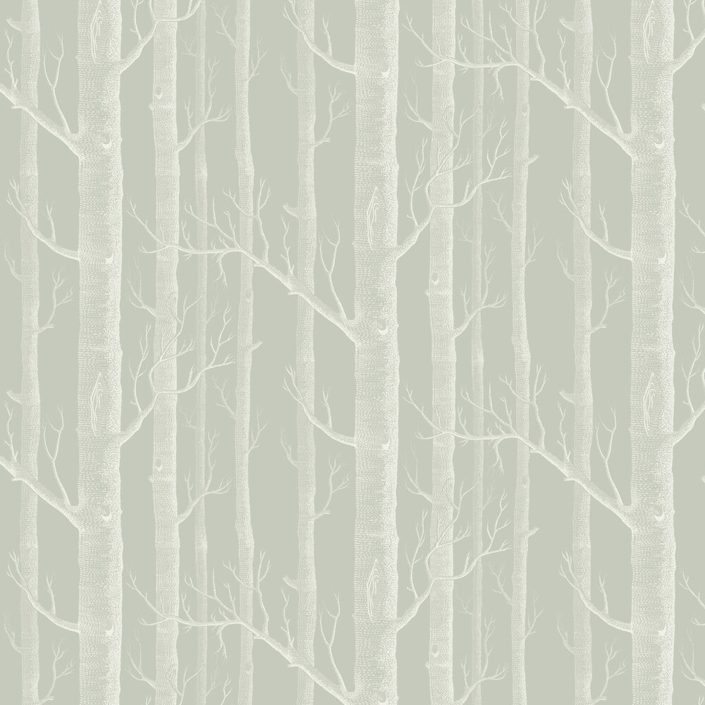 Woods Wallpaper - Old Olive - by Cole & Son