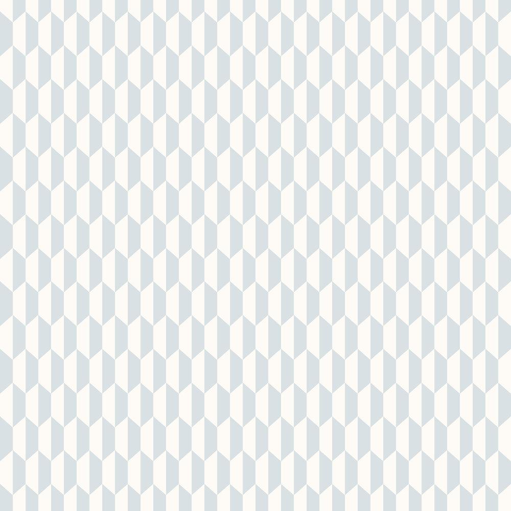 Petite Tile Wallpaper - Powder Blue - by Cole & Son