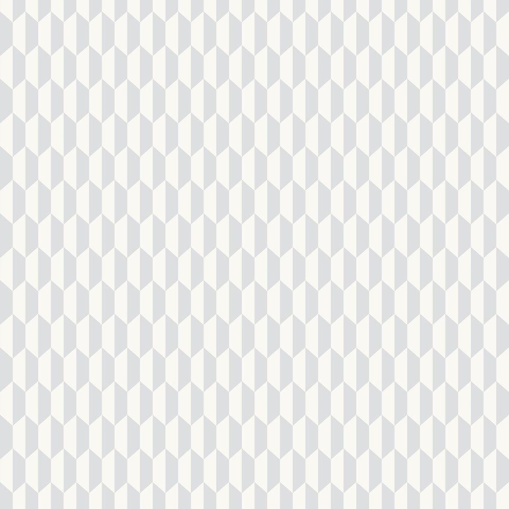 Petite Tile Wallpaper - Soft Grey - by Cole & Son