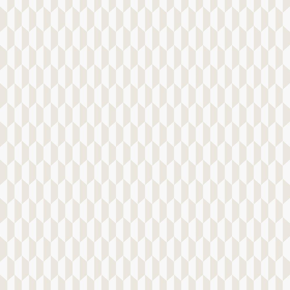 Petite Tile Wallpaper - Parchment - by Cole & Son