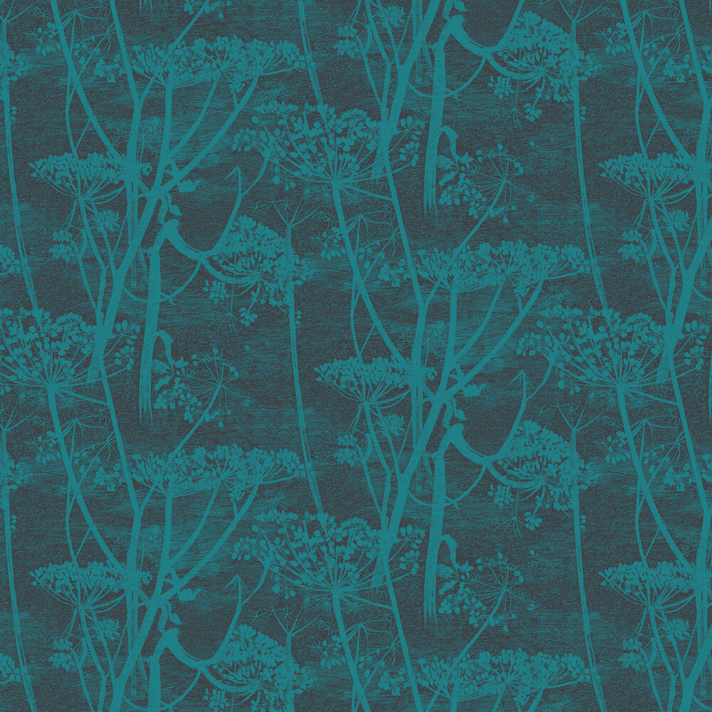 Cow Parsley Wallpaper - Viridian - by Cole & Son