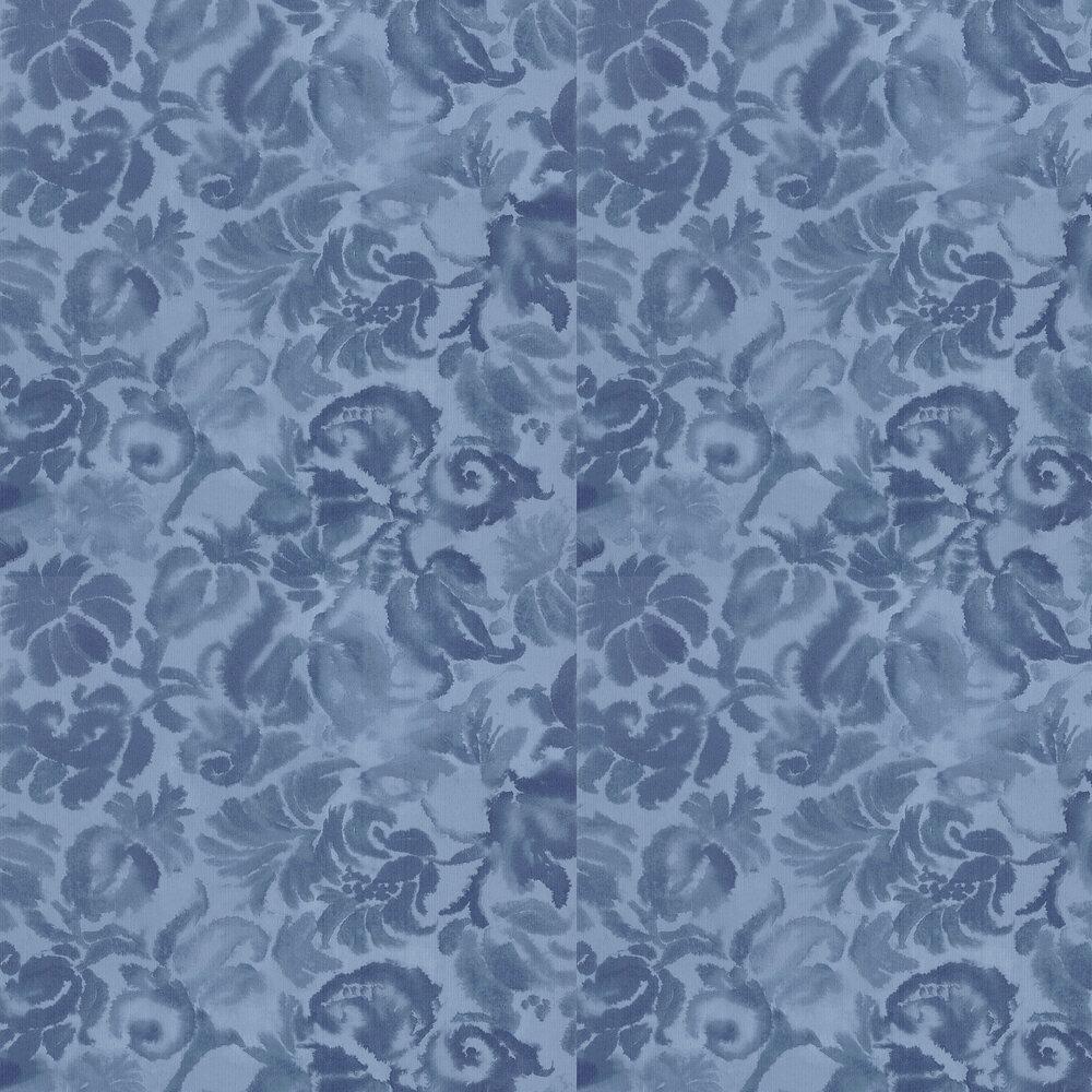 Katagami Wallpaper - Indigo - by Designers Guild