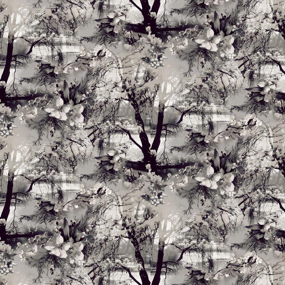 Brume Wallpaper - Ecru / Noir - by Jean Paul Gaultier
