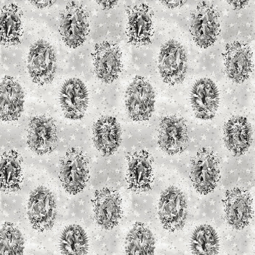 Jean Paul Gaultier Enlaces Argent Wallpaper - Product code: 3308/01