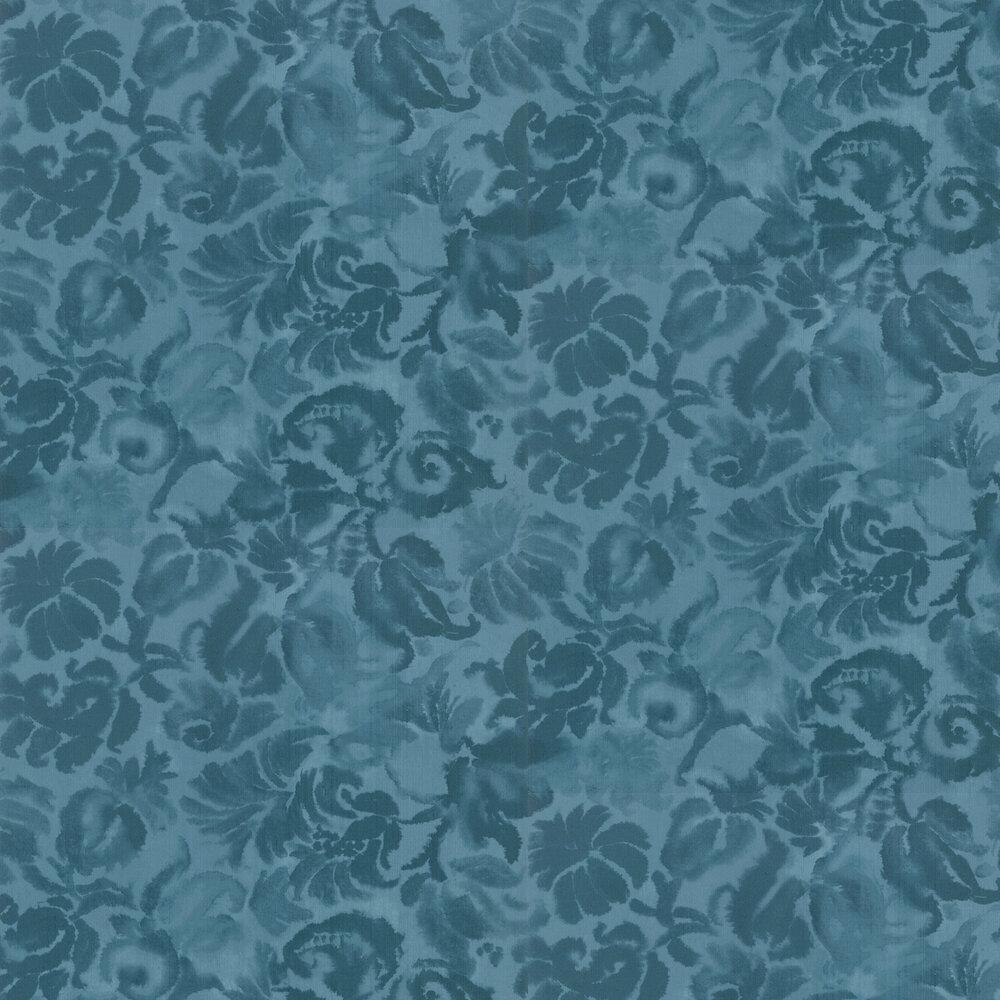 Katagami Wallpaper - Azure - by Designers Guild