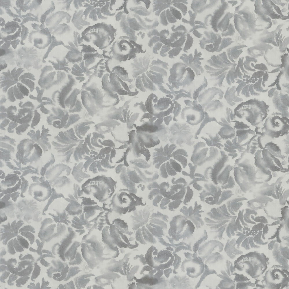 Katagami Wallpaper - Silver - by Designers Guild