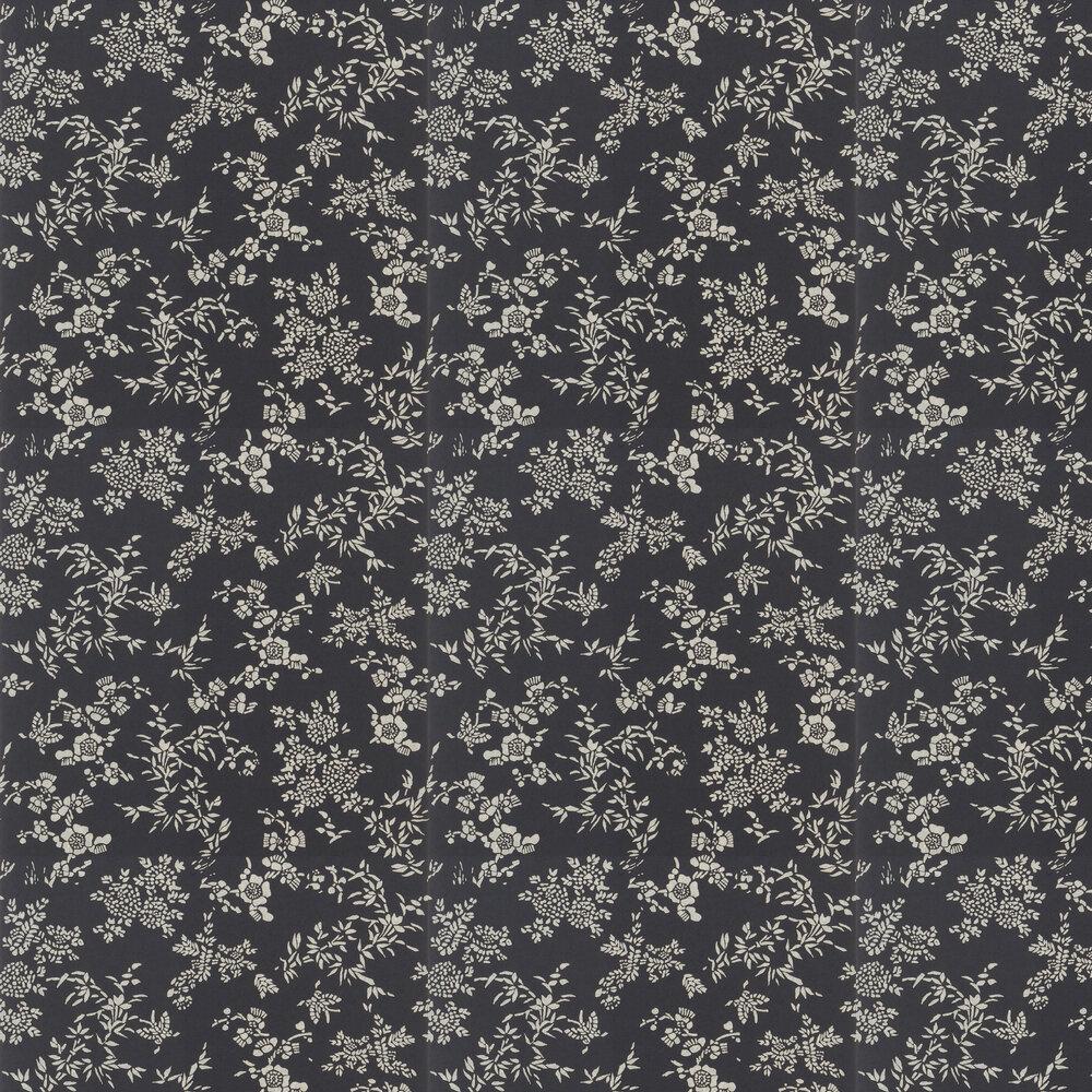 Ralph Lauren Teabowl Calico Black Wallpaper - Product code: PRL5006/06