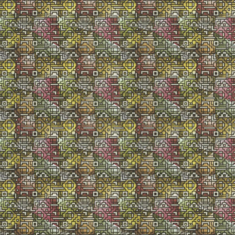 Casablanca Wallpaper - Berry - by Designers Guild