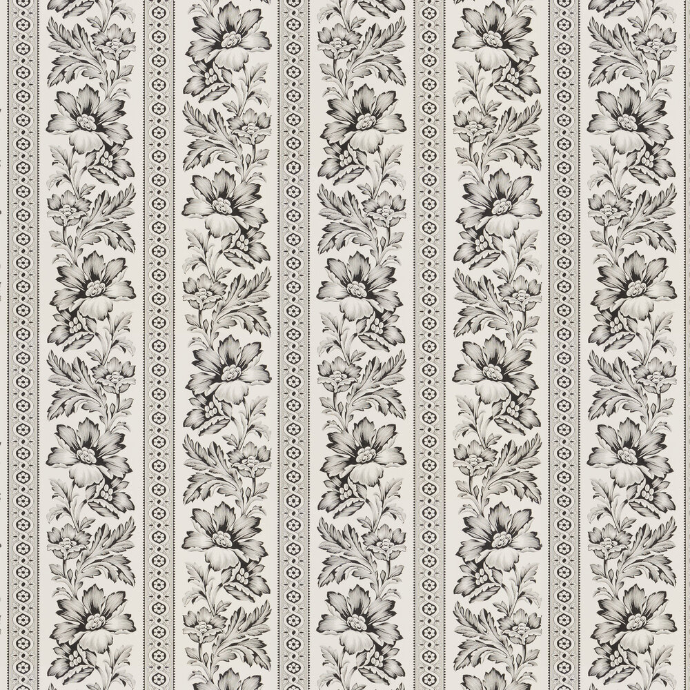 Ralph Lauren Gwinnett Toile Black Wallpaper - Product code: PRL5008/03