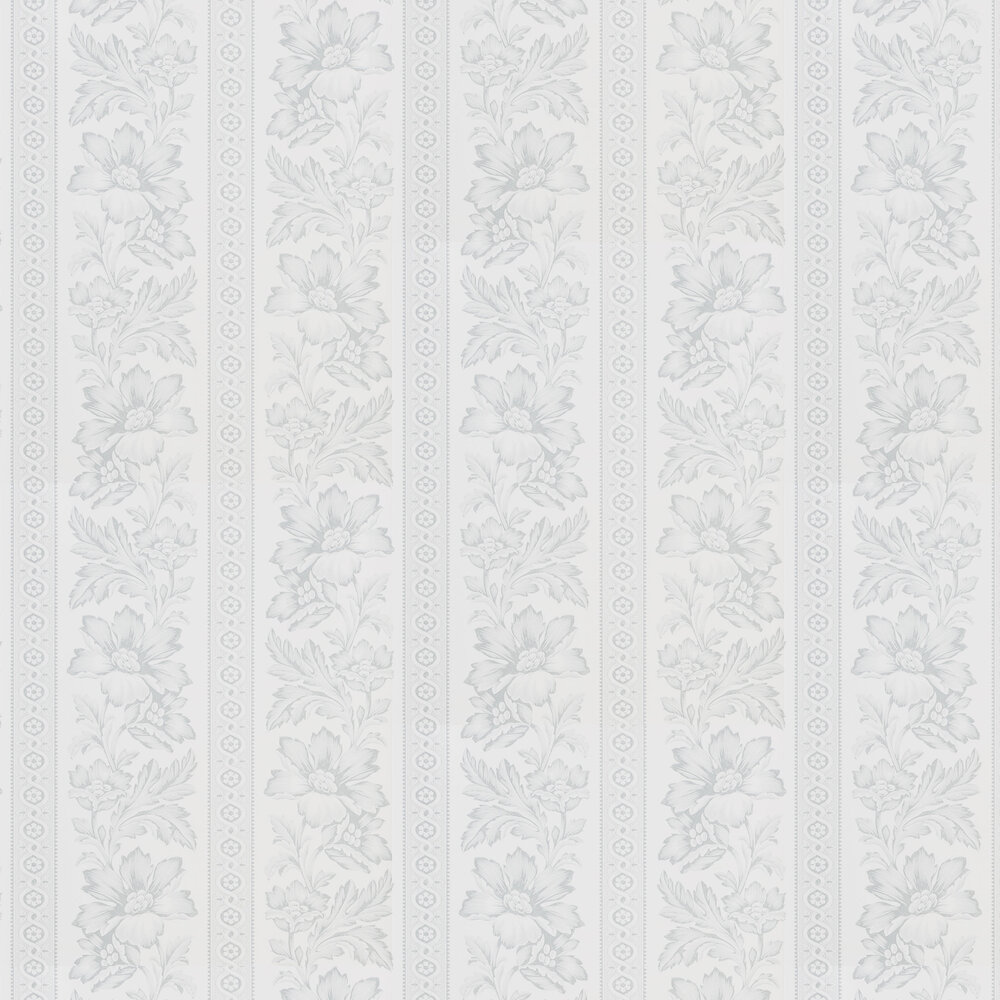 Ralph Lauren Gwinnett Toile Light Grey Wallpaper - Product code: PRL5008/05