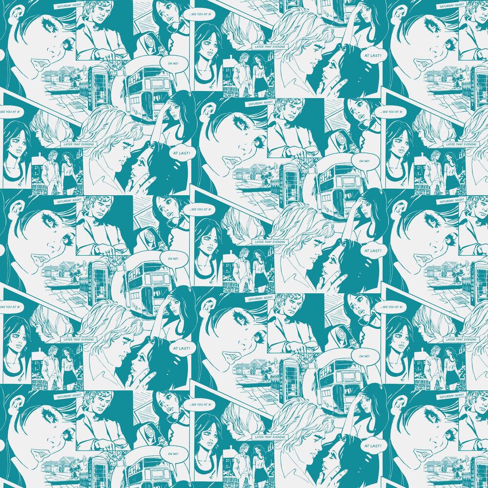 Mini Moderns True Romance Lido Wallpaper - Product code: AZDPT031LI