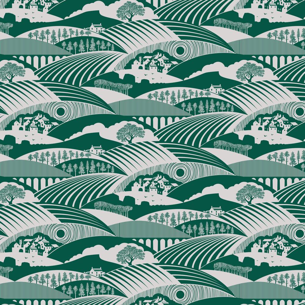 Mini Moderns Moordale Douglas Fir  Wallpaper - Product code: AZDPT033DF