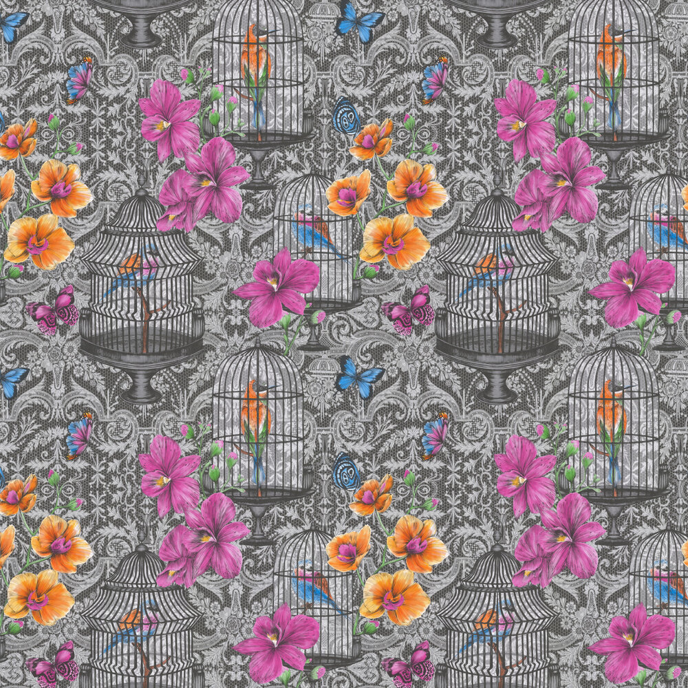 Orangery Wallpaper - Multi - by Matthew Williamson