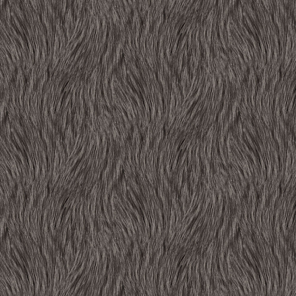 Wemyss Pelage Charcoal Wallpaper - Product code: 17-Charcoal