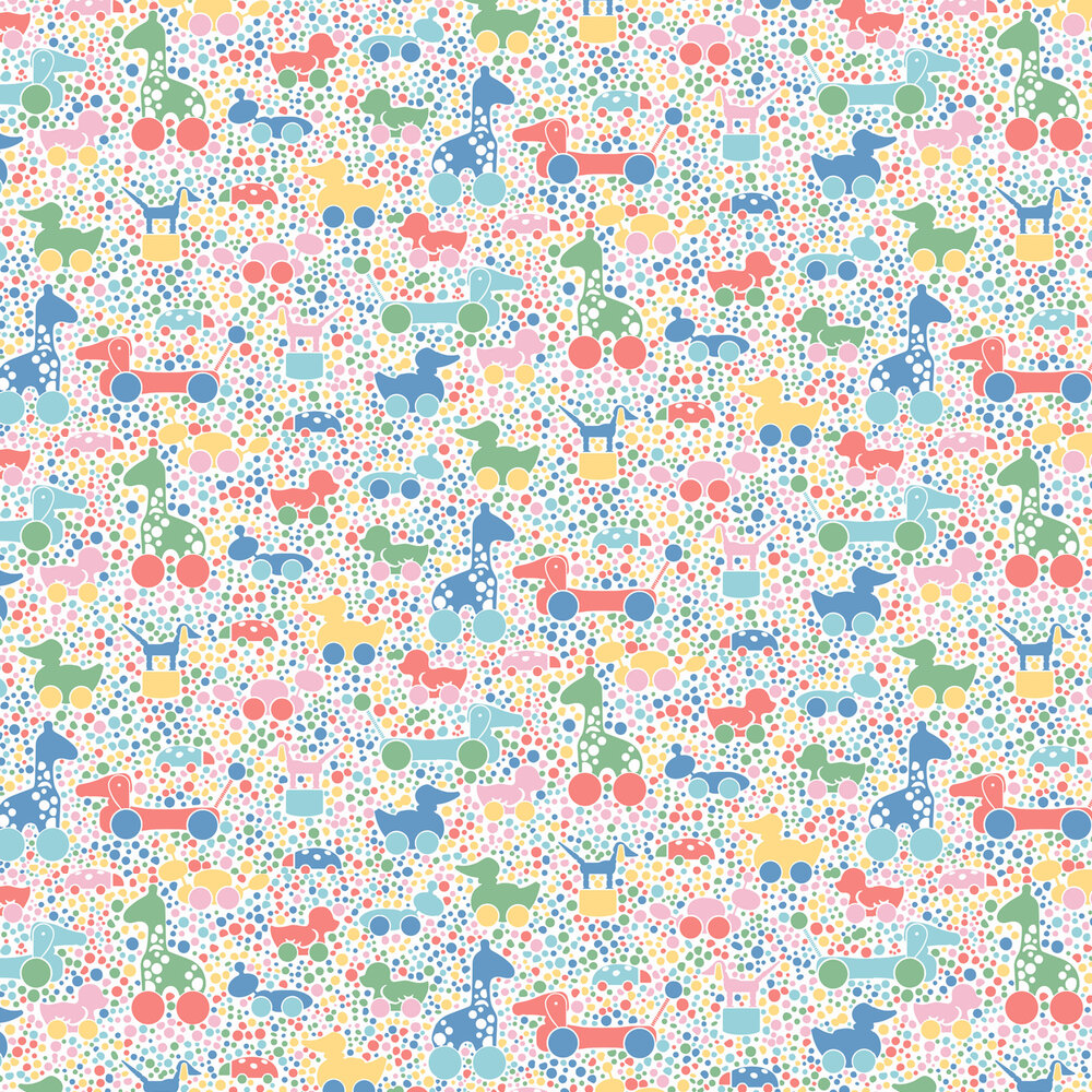 Brio Dots Wallpaper - Multicoloured  - by Boråstapeter