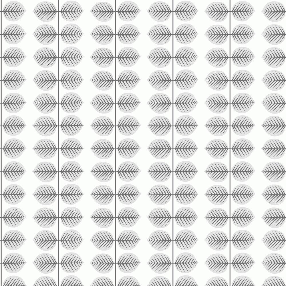 Berså II Wallpaper - Grey - by Boråstapeter