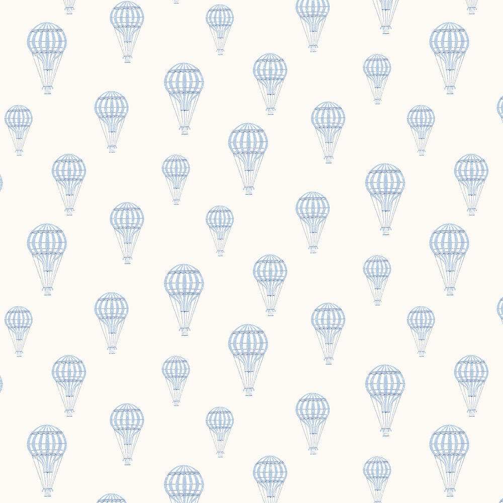 André Wallpaper - Blue - by Boråstapeter