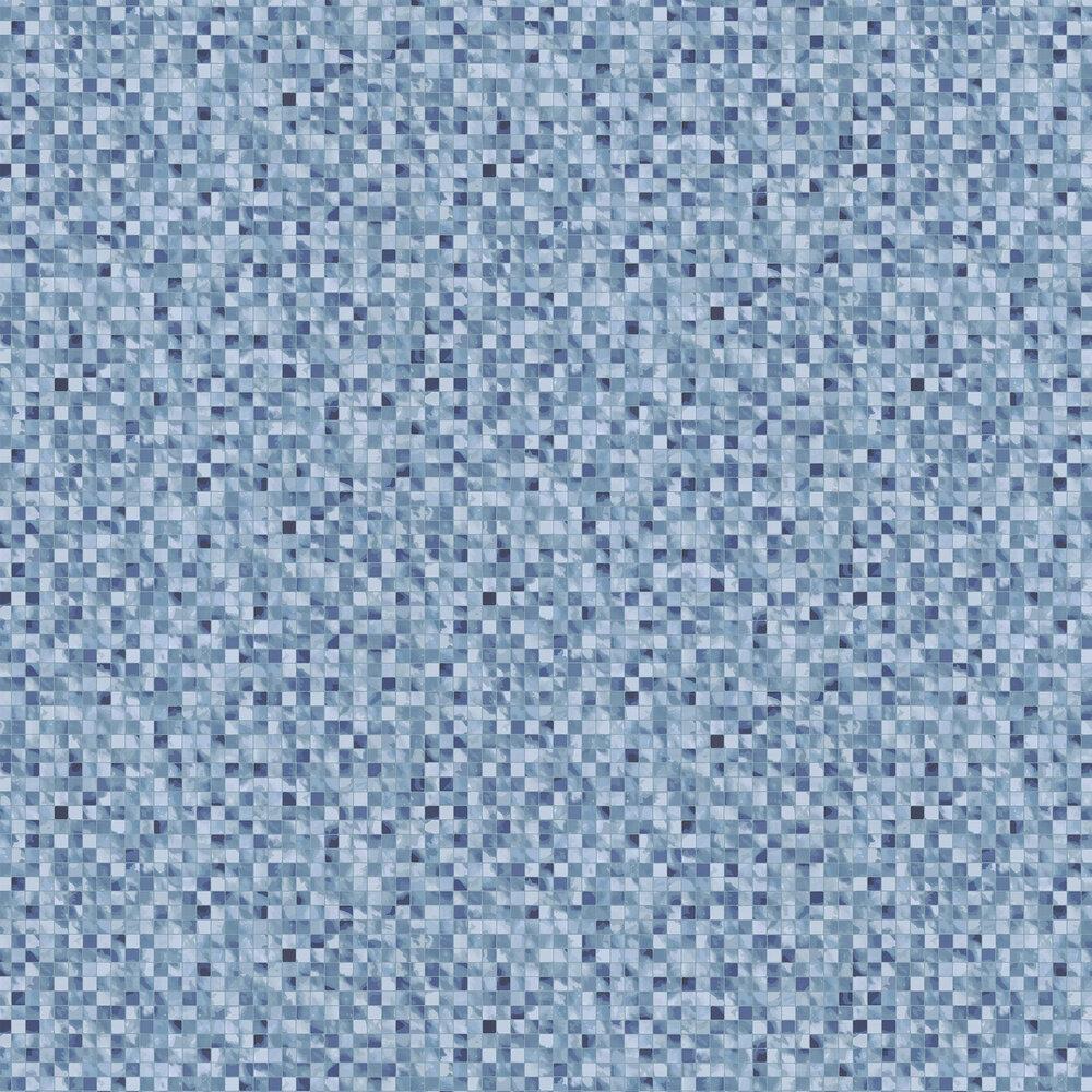 Wemyss Mosaic Aqua Wallpaper - Product code: 60-Aqua