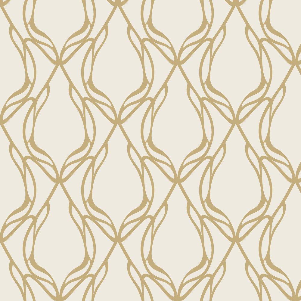 Wemyss Nove Gold Wallpaper - Product code: 35-Gold