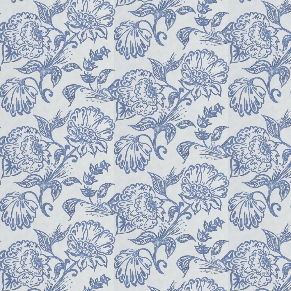 William Yeoward Philippine Denim Wallpaper - Product code: PWY9001/02