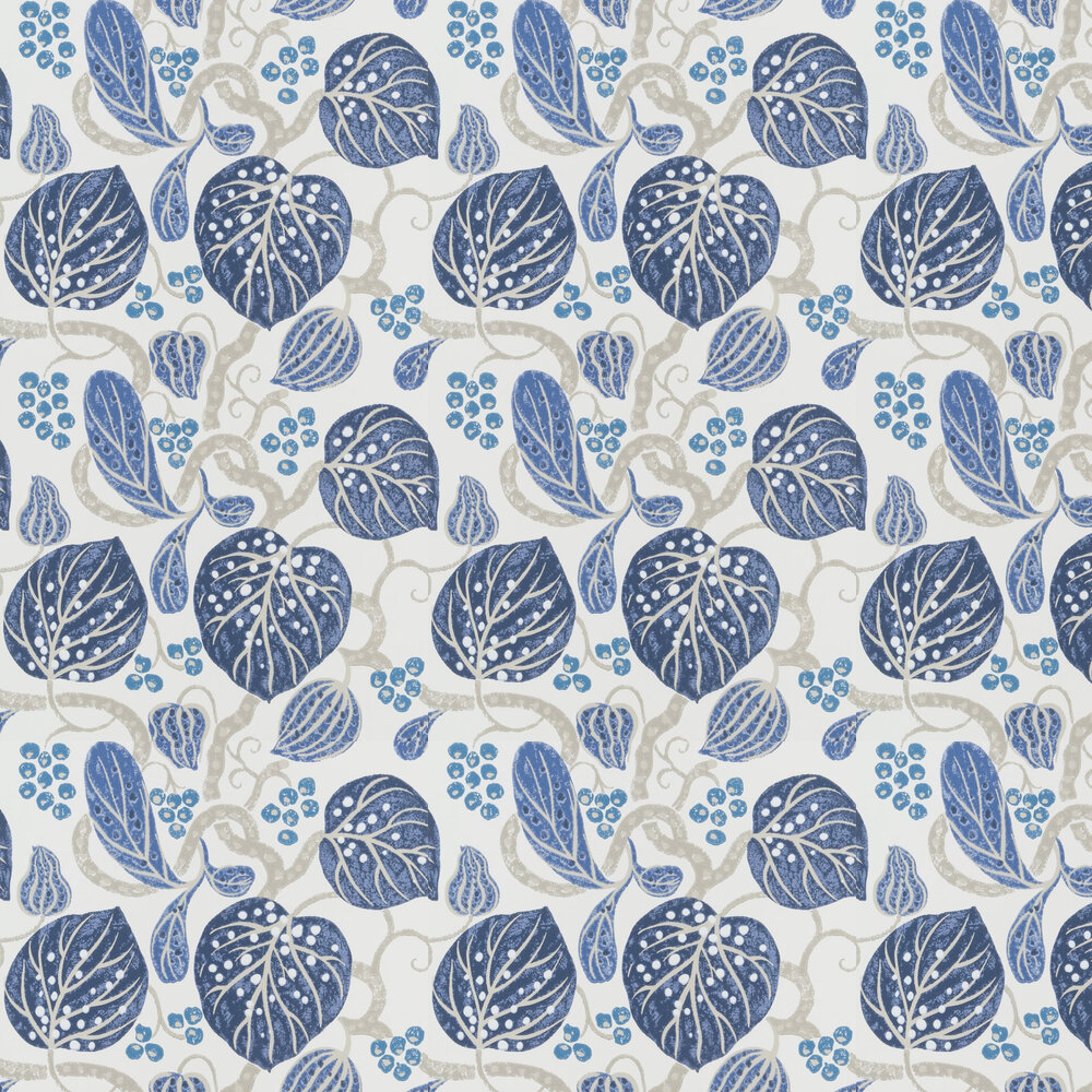 William Yeoward Astasia Indigo Wallpaper - Product code: PWY9002/01