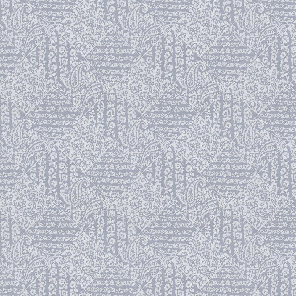 William Yeoward Felixton Steel Wallpaper - Product code: PWY9003/02